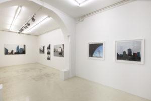 Vista parziale mostra A.Russo,Galleria Antonio Battaglia, Mi