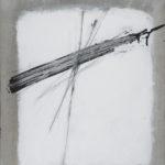 8.Guido Strazza Incrocio2010,tecnica mista su tela, 58x46,5 cm