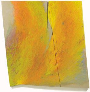 Copia di 2017 Spazio obliquo T-14, olio su tela, 170x155cm scontornato
