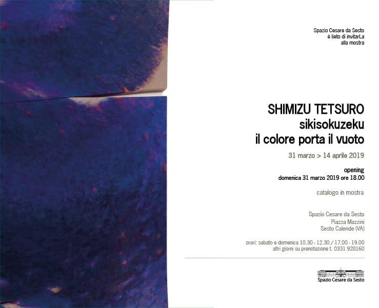 Invito Sesto Calendre Tetsuro Shimizu