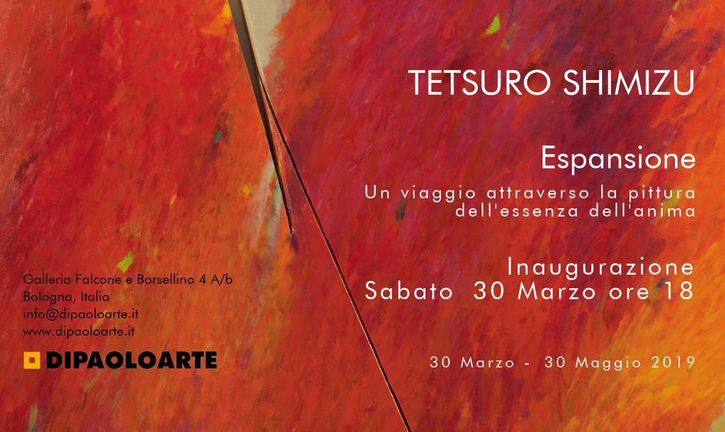 Invito Tetsuro Shimizu Di Paolo Arte, Bologna