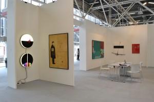 Stand Galleria Antonio Battaglia-Il Castello | Arte Fiera 2016, opere di Carmi, Spoldi, Adami, Campus, Marrocco