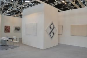 Stand Galleria Antonio Battaglia-Il Castello | Arte Fiera 2016 | opere di Dorazio, Dova, Marrocco, Fedi, Ortelli