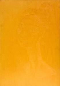 Elay, Ritratto giallo, 2019