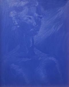 Elay Li, Blu Unknown, 2020