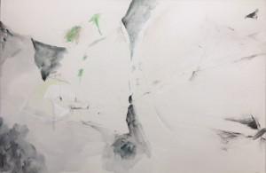 Mario Raciti, Mitologia, 1993, tecnica mista su carta intelaiata, 80x120 cm