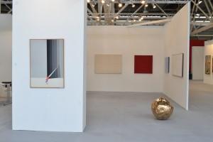 Stand Galleria Antonio Battaglia | Arte Fiera2016 | opere di Carmi, Ortelli, Marrocco, Guarneri